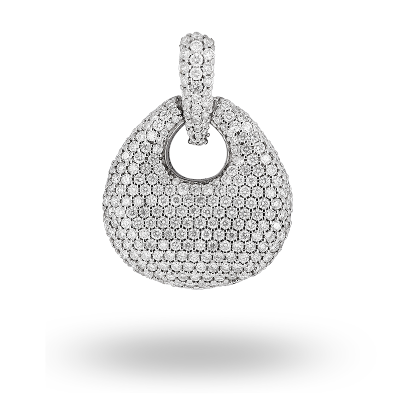 Pave set Diamond Pendant