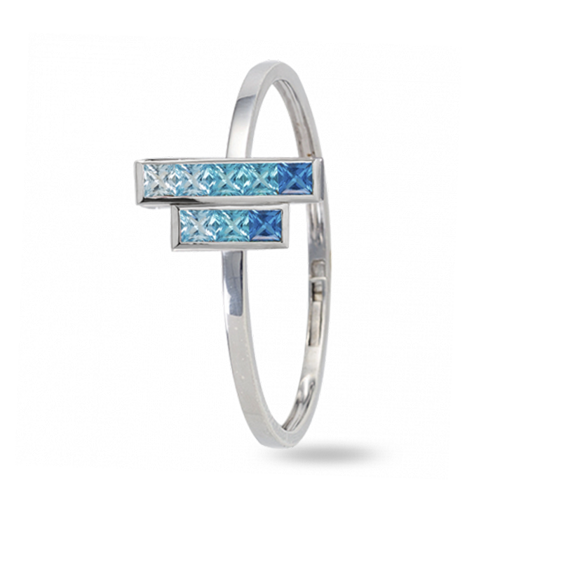 The Beira Lake Bangle - Medium